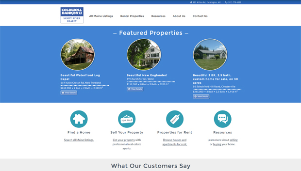 Sandy River Realty Homepage